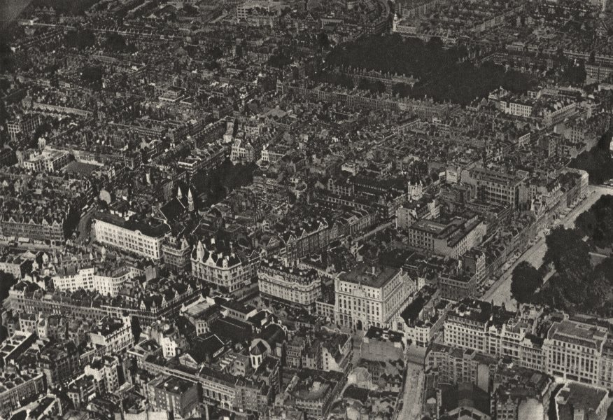 LONDON. Lincoln's Inn Fields Kingsway Southampton RowTheobald's Road 1926
