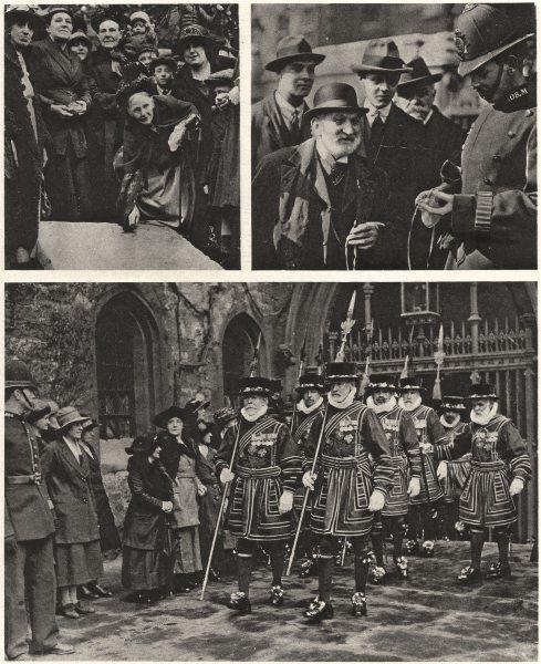 Associate Product LONDON. Easter customs Westminster Smithfield. Maundy Money widows 1926 print
