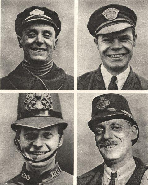 Associate Product LONDON. The big Smile. Bus conductor Milkman Policeman Postman 1926 old print