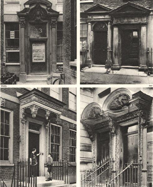 Associate Product LONDON DOORWAYS.33 Mark Lane, Carrington St Laurence Pounteney Hill 1926 print
