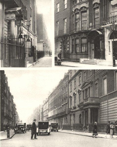 Associate Product MARYLEBONE. Harley Street; Wimpole Street.73 Harley Street Galdstone 1926