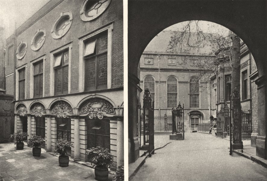 Associate Product LONDON. Renaissance halls prosperous city companies brewers stationers 1926