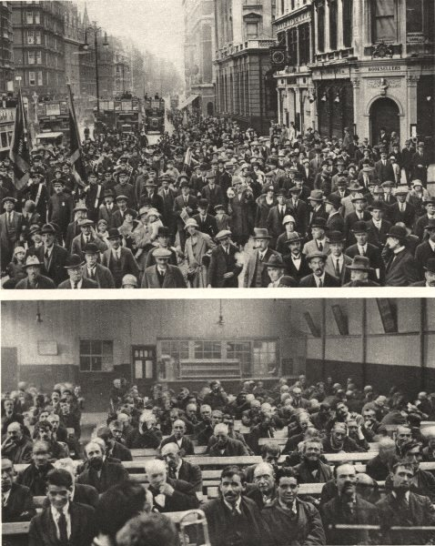 Associate Product SALVATION ARMY. Charity. Oxford Street. Blackfriars Road. London 1926 print