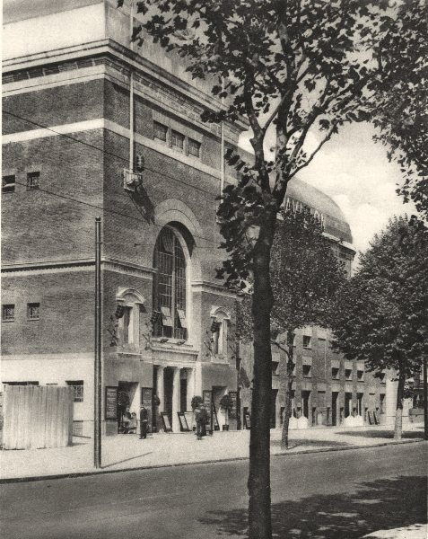 Associate Product LONDON. Architecture for the Cinema, palace at Shepherd's Bush 1926 old print
