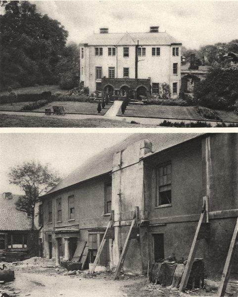 Associate Product LONDON. Pitt's House Hampstead Heath & Battersea's decaying manor house 1926