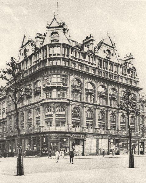 Associate Product LONDON. Strand building Norfolk Street. Thames Conservancy 1926 old print