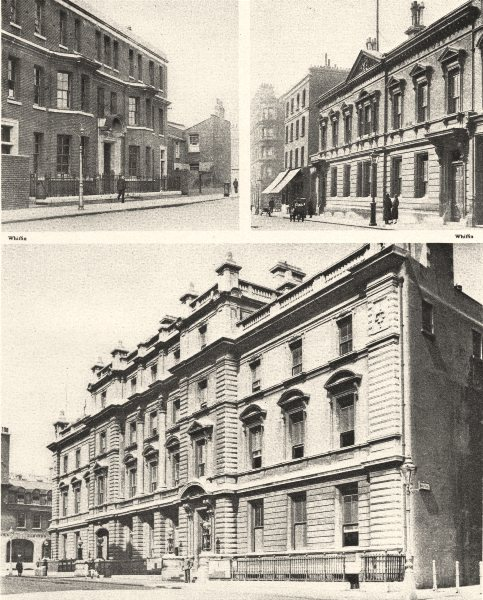 Associate Product LONDON POLICE STATIONS. Thames, Bow Street, Marylebone 1926 old vintage print
