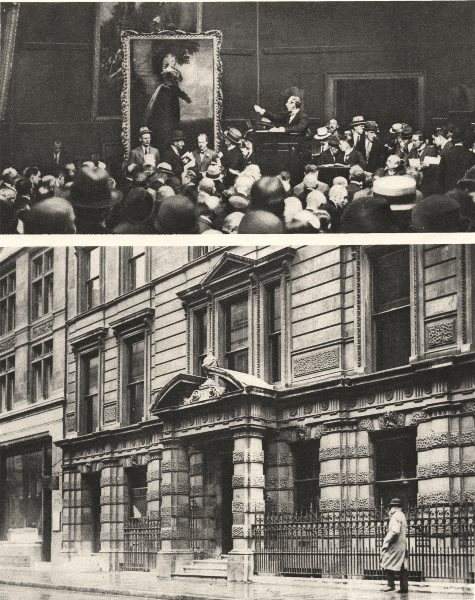 Associate Product CHRISTIE'S. Premises in King Street, St James's. In the Sale room. Auctions 1926