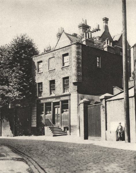 Associate Product LONDON. The Grenadier in Wilton Mews, where coachmen drink no more 1926 print
