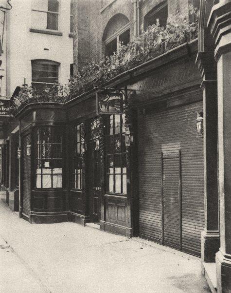 Associate Product LONDON. Olde Dr. Butler's head, established in Mason's Avenue in 1616 1926
