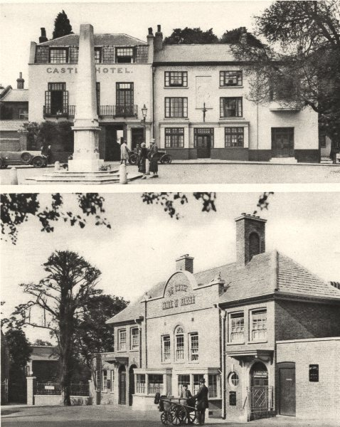 Associate Product HAMPSTEAD. Taverns of The Heath. Jack Straw's Castle and the Bull and Bush 1926