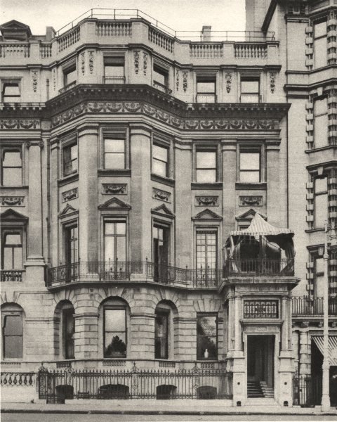 Associate Product LONDON. Premises of the Lyceum club in an Historic house. 138 Piccadilly 1926