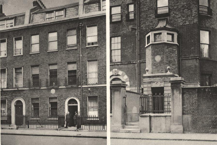 Associate Product DICKENS. 48 Doughty Street, Bloomsbury. 1  Devonshire Terrace, Marylebone 1926