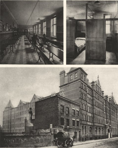 Associate Product LONDON. Rowton houses.Hotel for working men. Arlington Road, Camden Town 1926