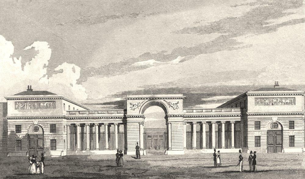 Associate Product PARIS. Palace of the Legion of Honour 1831 old antique vintage print picture
