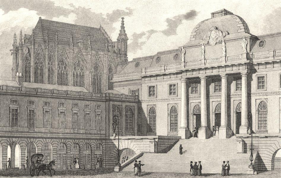Associate Product PARIS. Palais de Justice, from the Courtyard 1831 old antique print picture