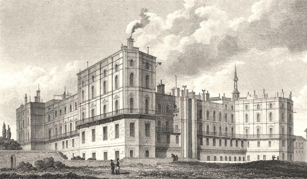 Associate Product PARIS. Chateau St. Germain En Laie 1831 old antique vintage print picture