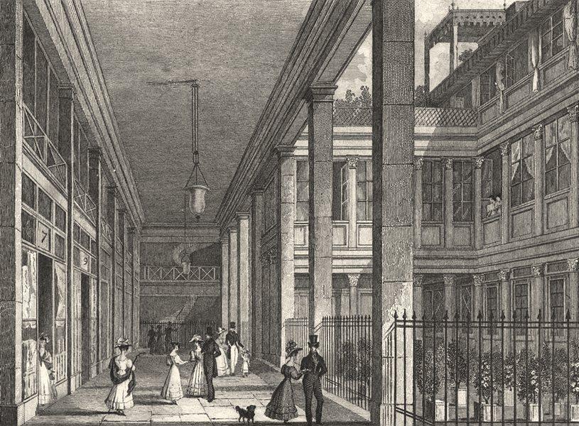 Associate Product PARIS. Passage du Saumon 1831 old antique vintage print picture