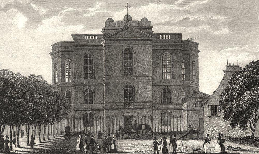 Associate Product PARIS. L'Observatoire 1831 old antique vintage print picture