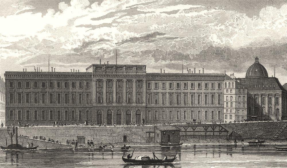 Associate Product PARIS. Hotel des Monnaies 1831 old antique vintage print picture