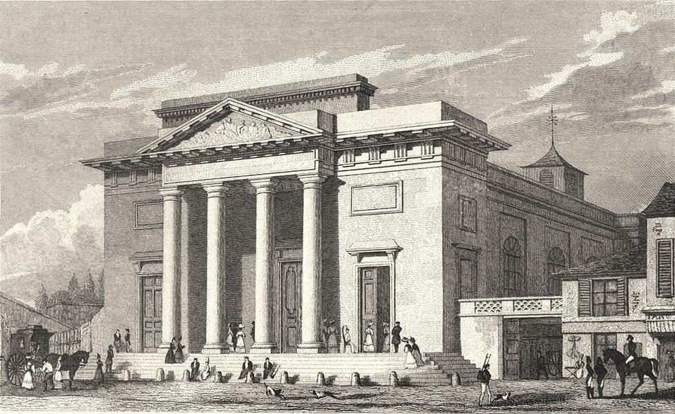 Associate Product PARIS. Eglise de St. Philippe du Roule 1831 old antique vintage print picture