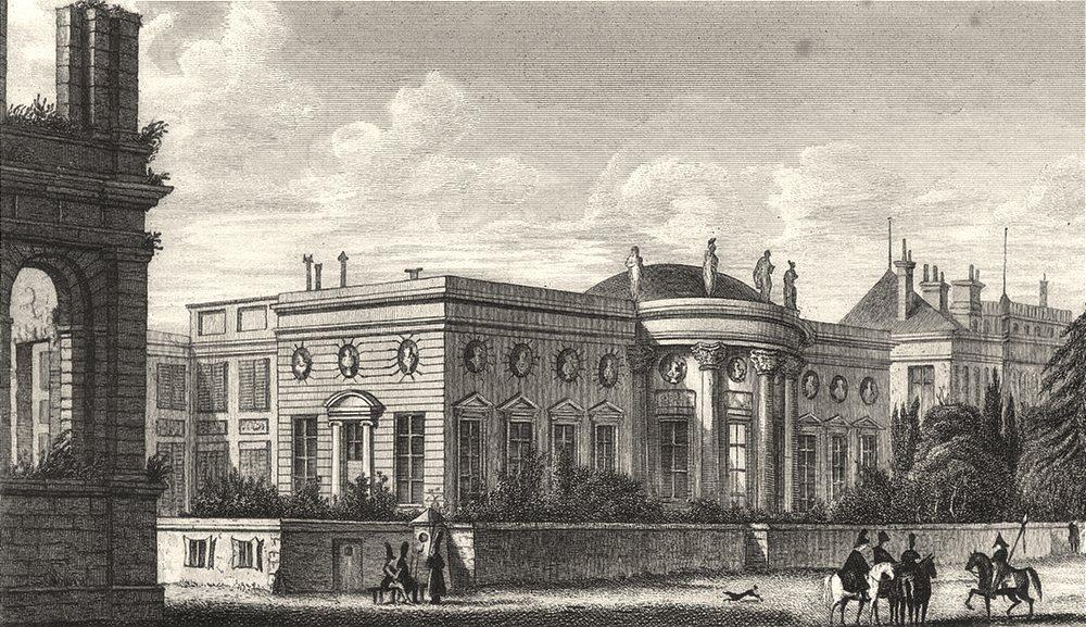 Associate Product PARIS. Palais de la Legion D' Honneur 1831 old antique vintage print picture