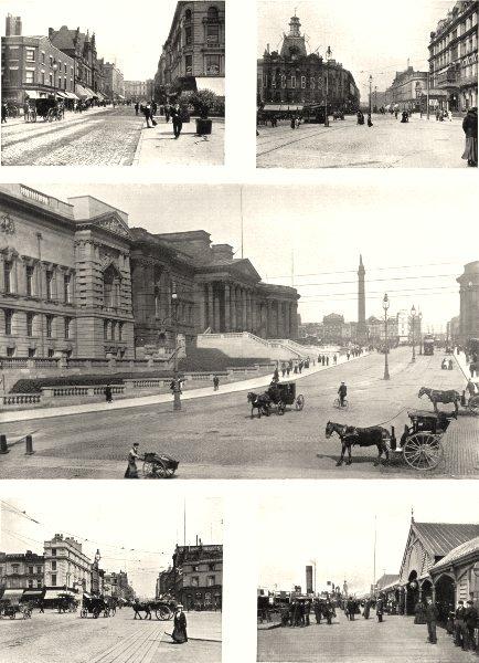 LIVERPOOL. Elliot Street London road; William Brown; Lime Landing Stage 1900