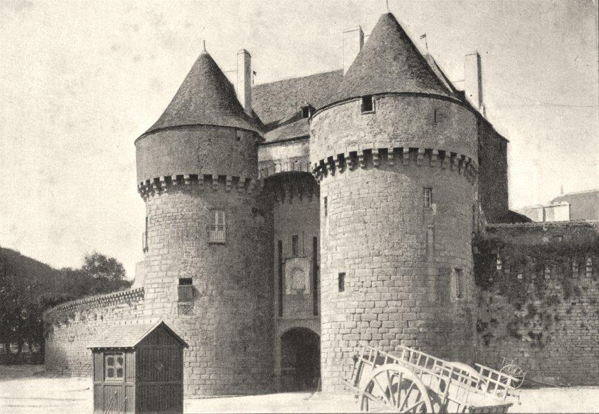 Associate Product LOIRE- ATLANTIQUE. Guérande. Porte St- Michel 1895 old print picture