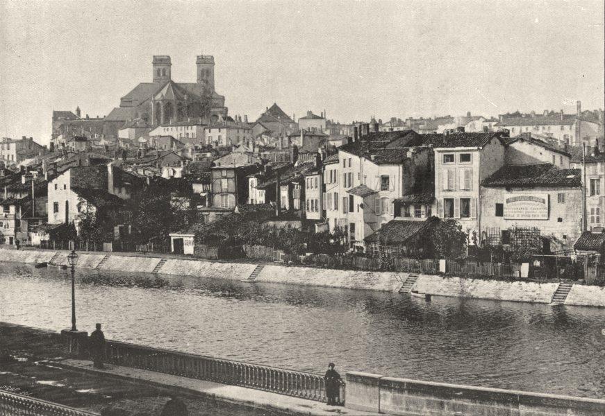 Associate Product MEUSE. Verdun. Vieille Ville 1895 old antique vintage print picture
