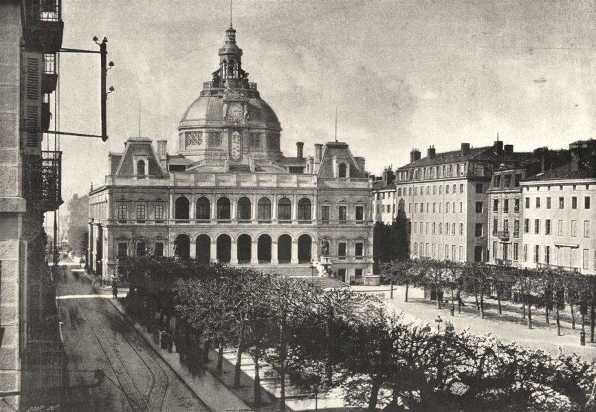 Associate Product LOIRE. St- Étienne Hotel de Ville 1895 old antique vintage print picture