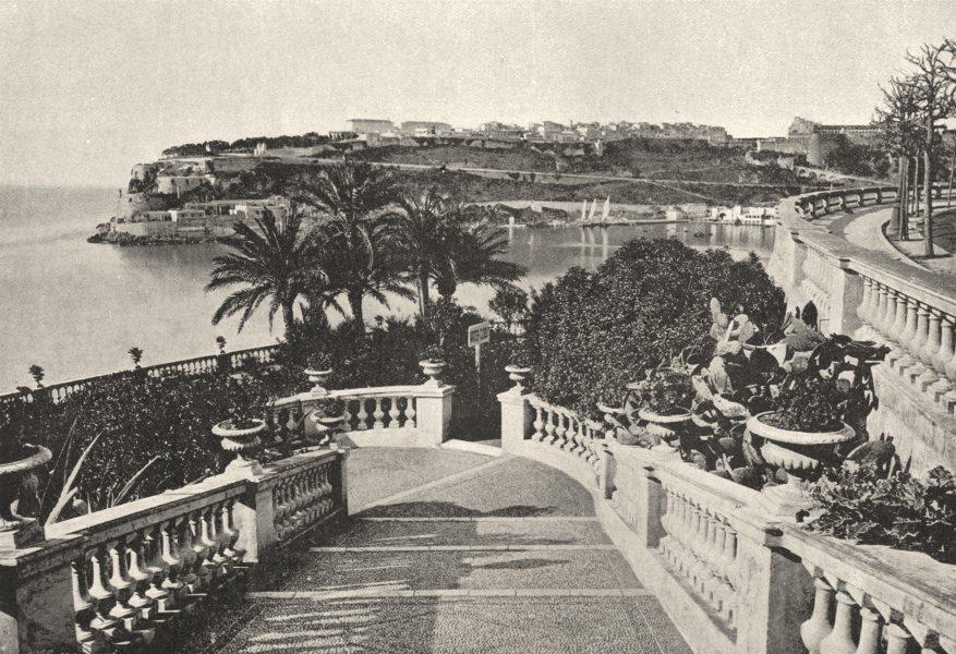 Associate Product MONACO. de Monte- Carlo 1895 old antique vintage print picture