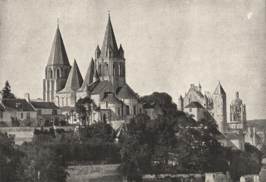 Associate Product INDRE- ET- LOIRE. Loches. du Sud 1895 old antique vintage print picture