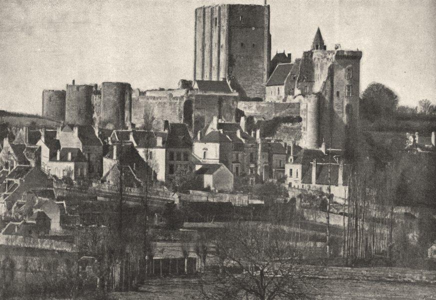 Associate Product INDRE- ET- LOIRE. Loches. Générale du Donjon 1895 old antique print picture