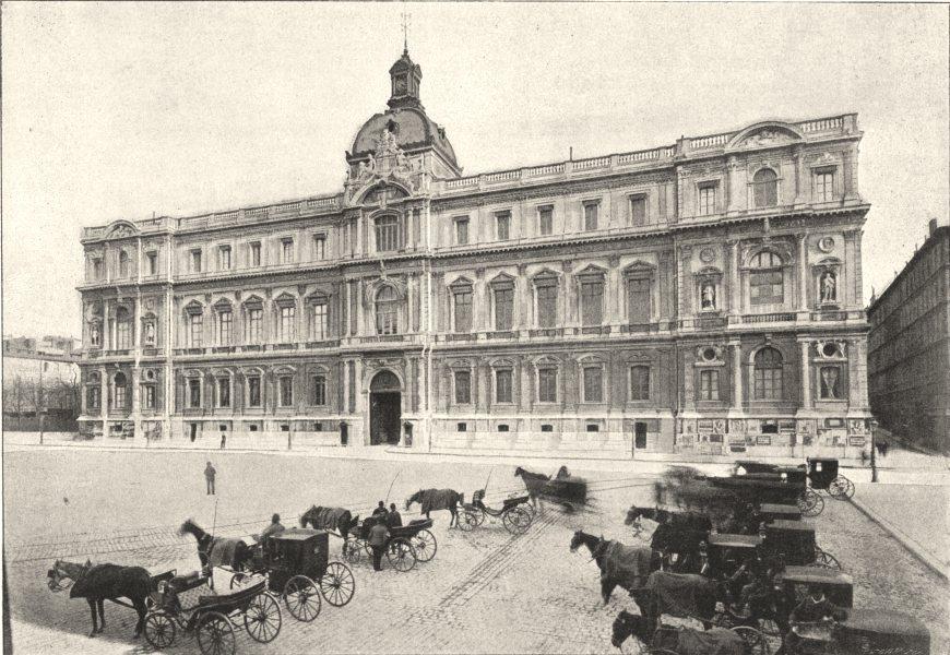 Associate Product BOUCHES- DU- RHÔNE. Marseille. Préfecture 1895 old antique print picture