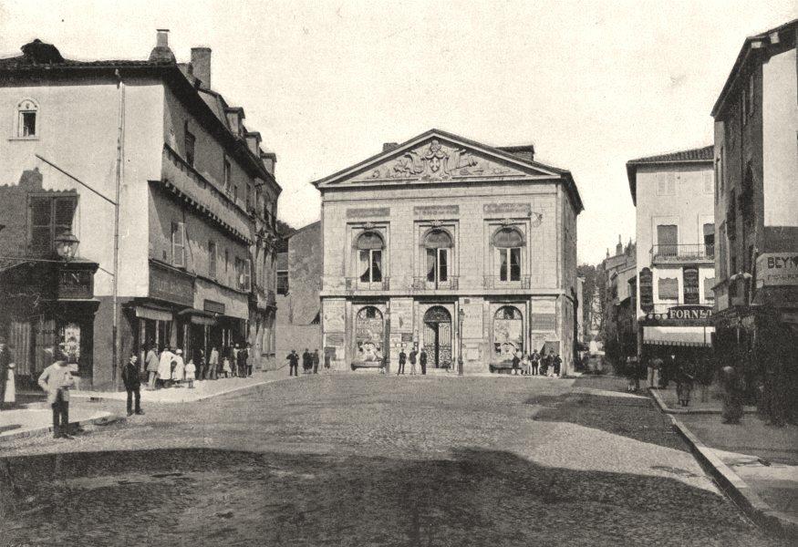 Associate Product AIN. Bourg. Hotel de Ville Place D'Armes 1895 old antique print picture
