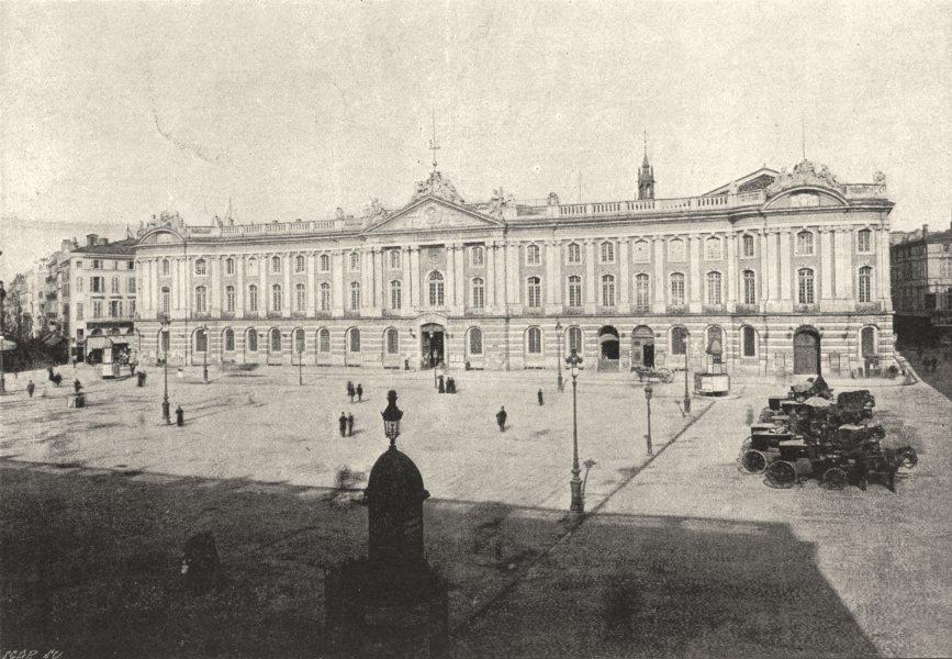 Associate Product HAUTE- GARONNE. Toulouse. Capitole 1895 old antique vintage print picture