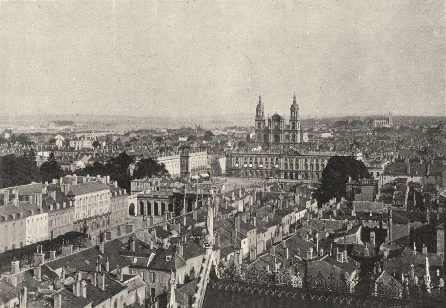 Associate Product MEURTHE- ET- MOSELLE. Nancy. Généralf 1895 old antique vintage print picture