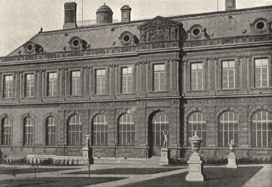 Associate Product PARIS. Louvre. Galerie des Antiques 1895 old vintage print picture