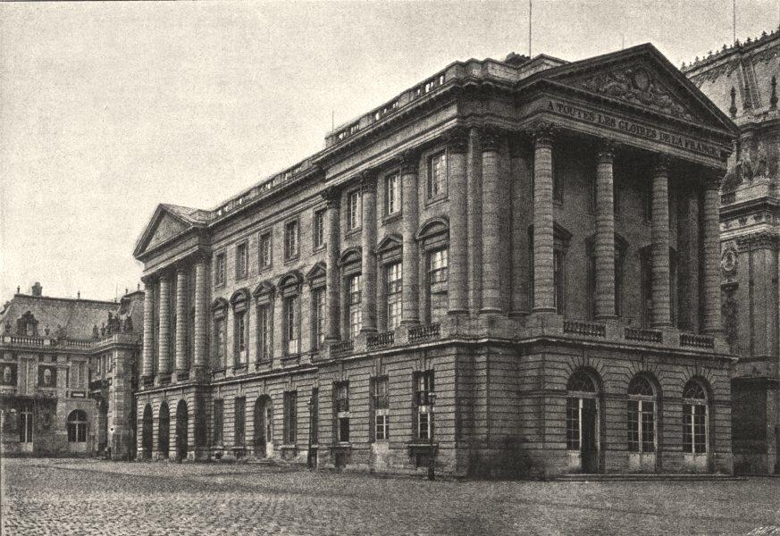 YVELINES. Versailles. Pavillon de Cour Royale 1895 old antique print picture