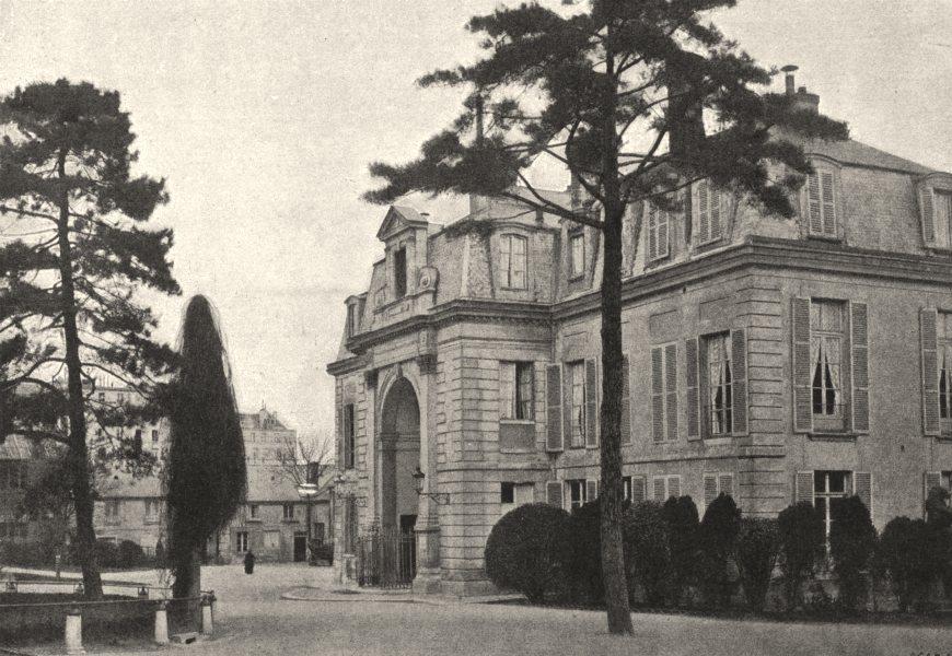 Associate Product PARIS. Muséum. Administration 1895 old antique vintage print picture