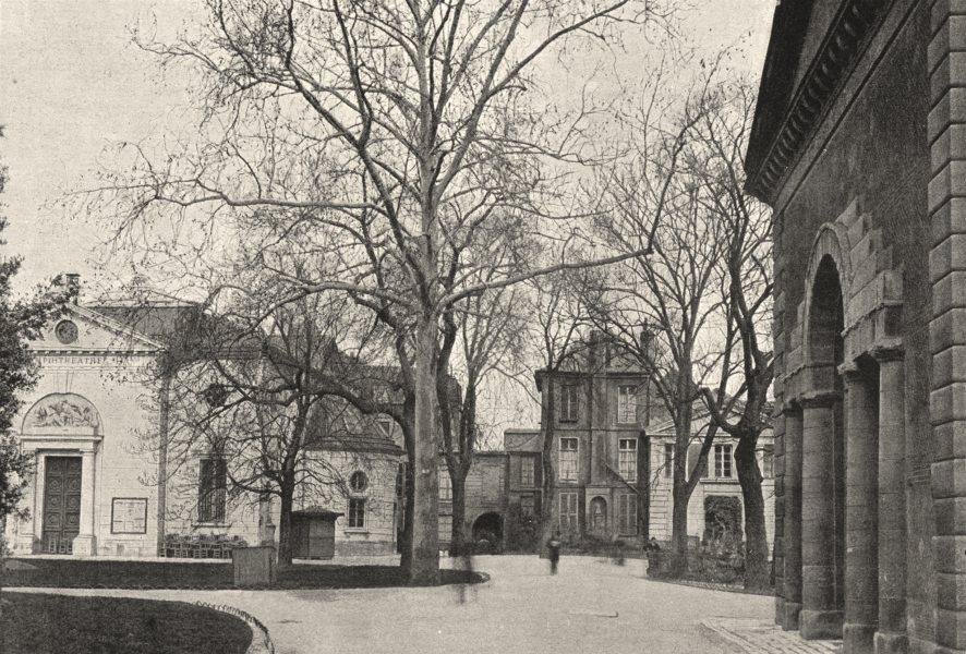 Associate Product PARIS. Muséum. Maison de Cuvier 1895 old antique vintage print picture