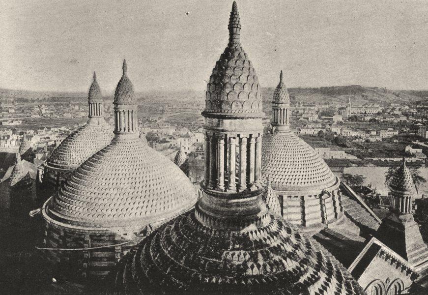 Associate Product PYRÉNÉES- ORIENTALES. Perpignan. Domes 1895 old antique vintage print picture