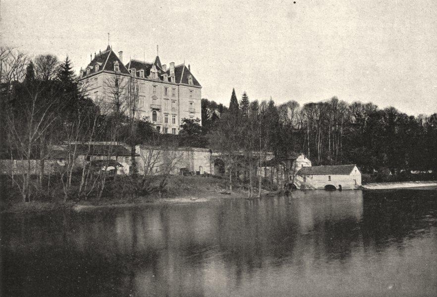 Associate Product DORDOGNE. Chateau de Roche- Sur- L'Isle 1895 old antique vintage print picture