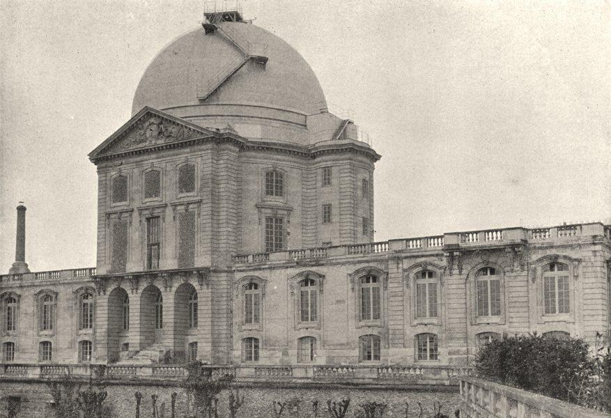 Associate Product HAUTS- DE- SEINE. Meudon. Observatoire 1895 old antique vintage print picture