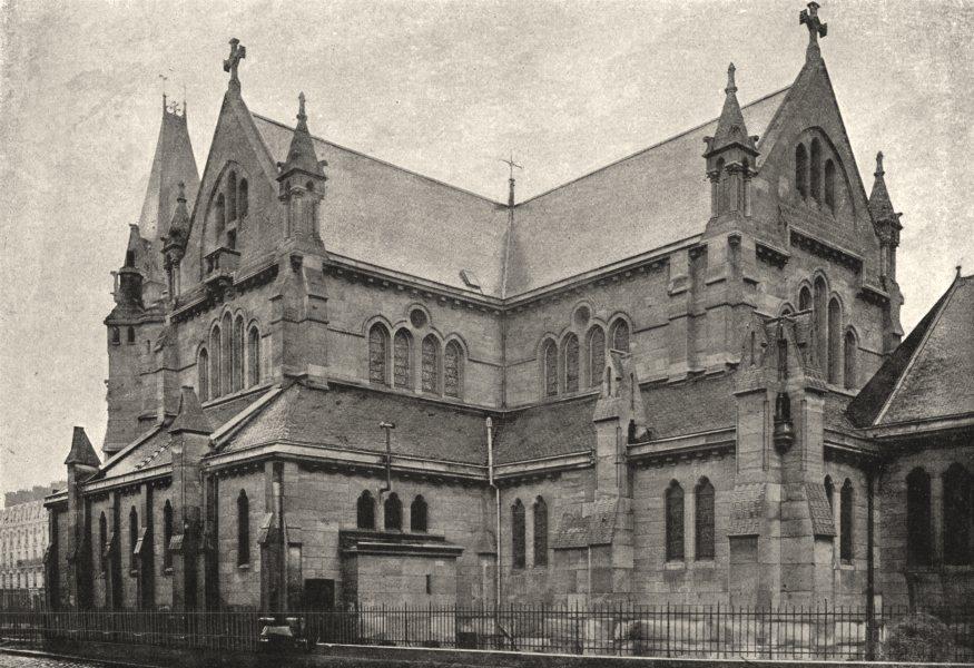 Associate Product SEINE- ST- DENIS. Église Paroissiale 1895 old antique vintage print picture