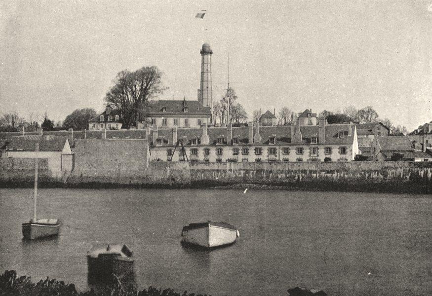 Associate Product MORBIHAN. Lorient. port Militaire 1895 old antique vintage print picture