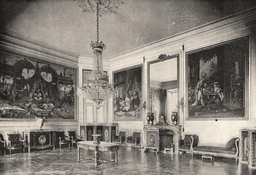 Associate Product OISE. Compiègne. Salon de Musioue 1895 old antique vintage print picture