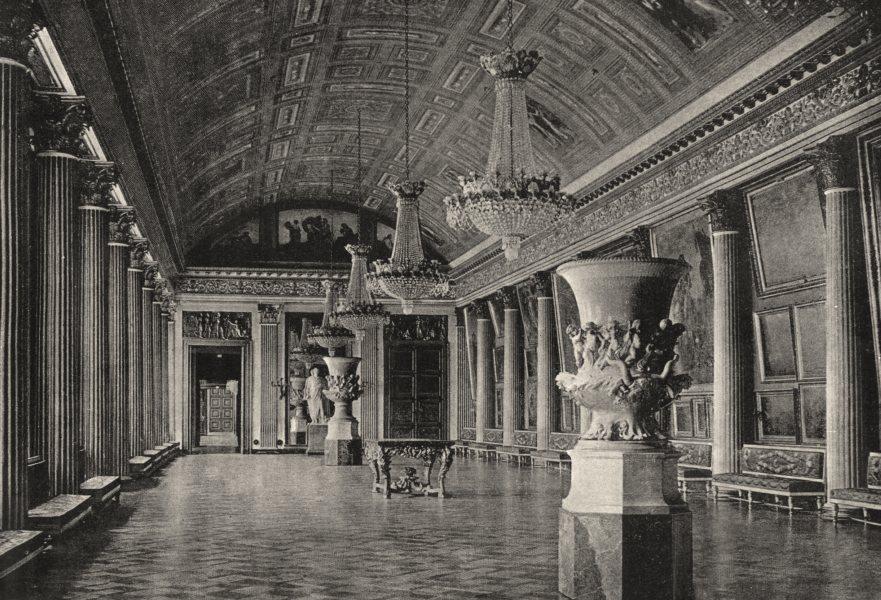 Associate Product OISE. Compiègne. Salle des Fêtes 1895 old antique vintage print picture