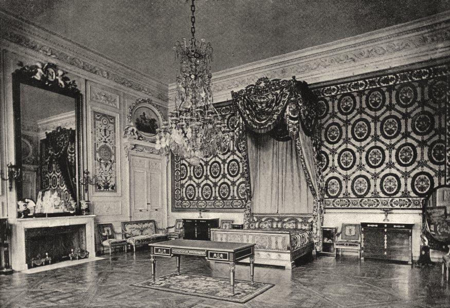 Associate Product OISE. Compiègne. Chambre a Coucher des Souverains Etrangers 1895 old print