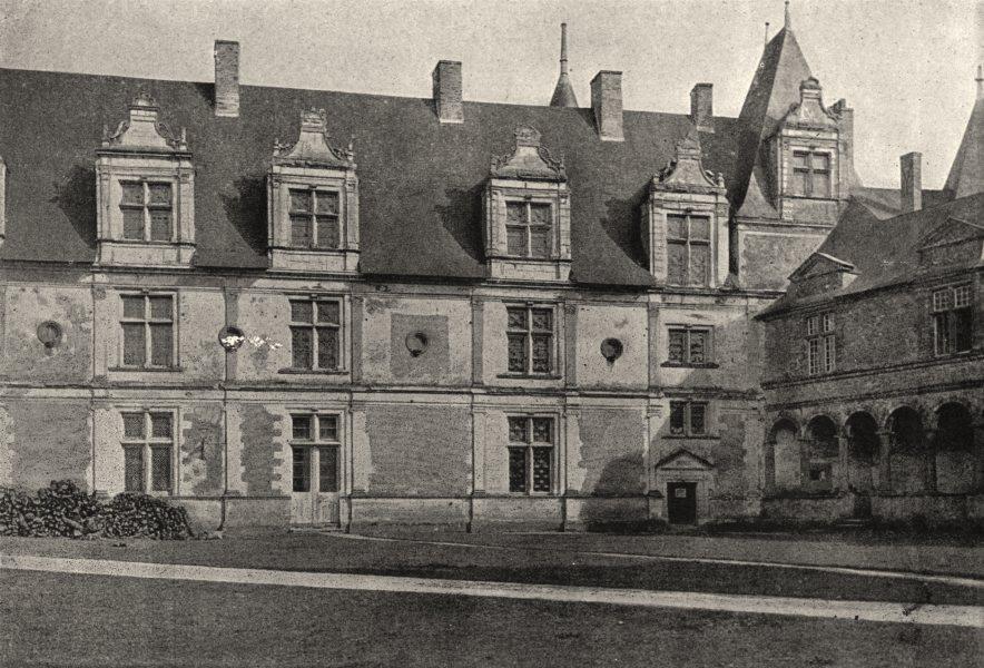 Associate Product ILLE- ET- VILAINE. Chateaubriand. Chateau 1895 old antique print picture